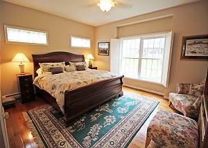 First floor King Master bedroom
