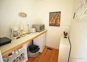 Second guest cottage kitchenett
