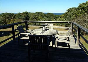 View from second floor deck