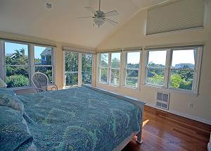 Another view of second  master bedroom