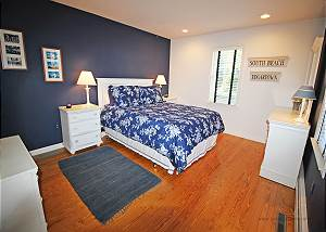 Another view of first floor bedroom
