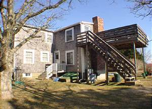 Back of house in winterThink GREEN