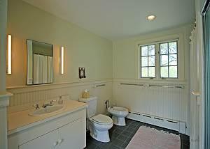 First floor bedroom bathroom