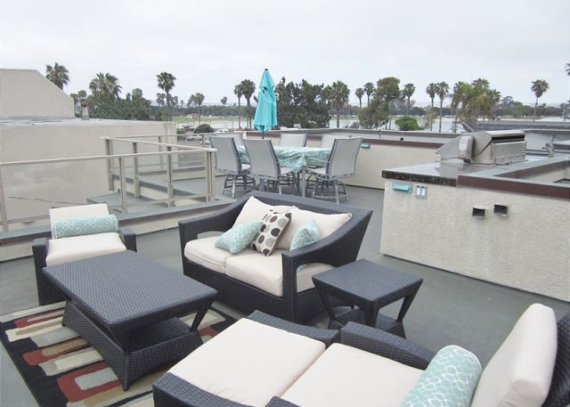 Fabulous Luxury 3 bedroom ocean and bayview Vacation home  South Mission - San Diego, California