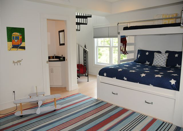 Bunk Room with Private Half Bath