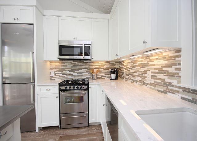Full Stainless Kitchen