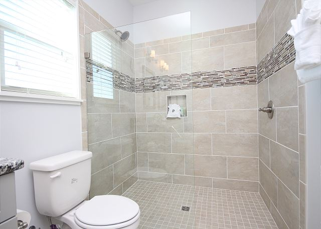 Guest Bath with Shower Only