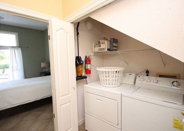 Downstairs Washer/Dryer