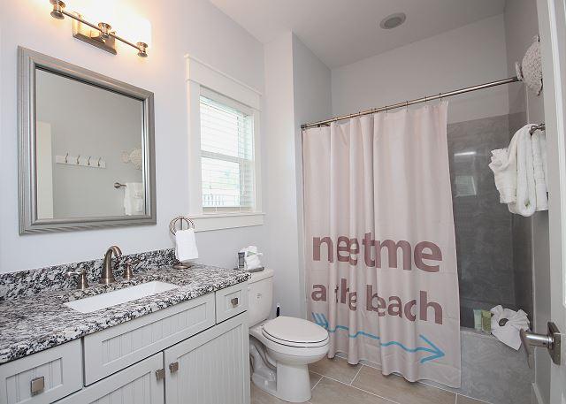 Guest Bath/Shower Combo