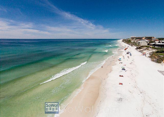 Blue Mountain beach awaits you!