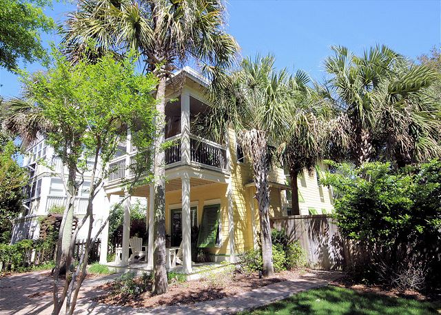 Kingdom Come Tropical Oasis on Hickory Street in Seagrove Beach,
