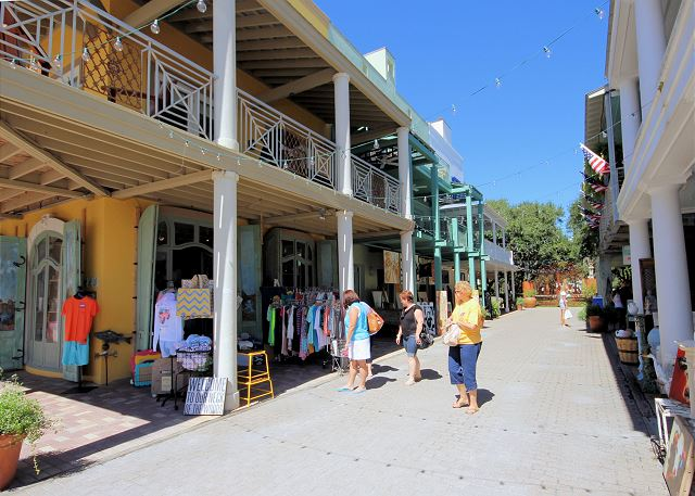 Open Air Market Shopping along 30A