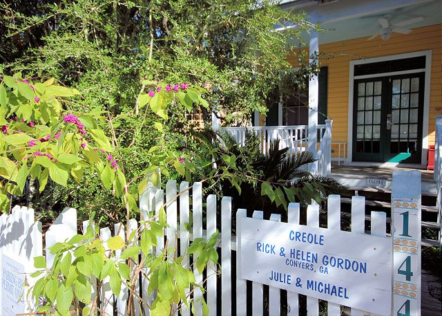 Creole Cottage on Savannah Street in Seaside, FL