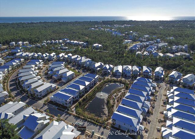 Aerial Shot of NatureWalk & Gulf