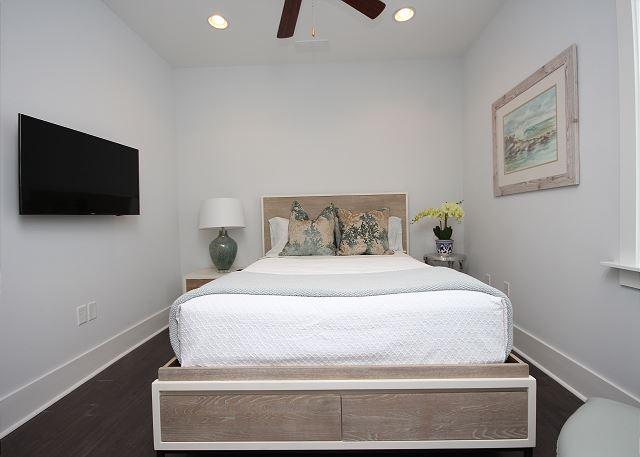 Queen Guest Room with Flat Screen TV