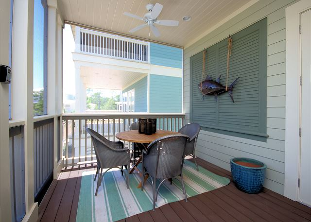 Front Screened Porch Dining