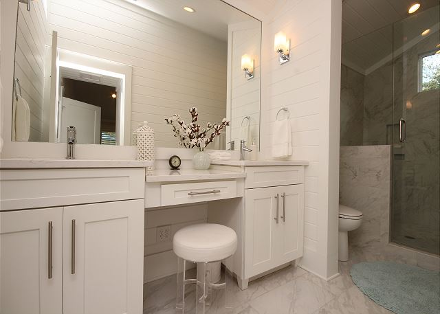 Master Bath (shower only) with Vanity