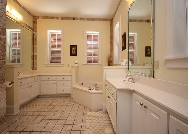 Master Bath with Separate Tub & Shower