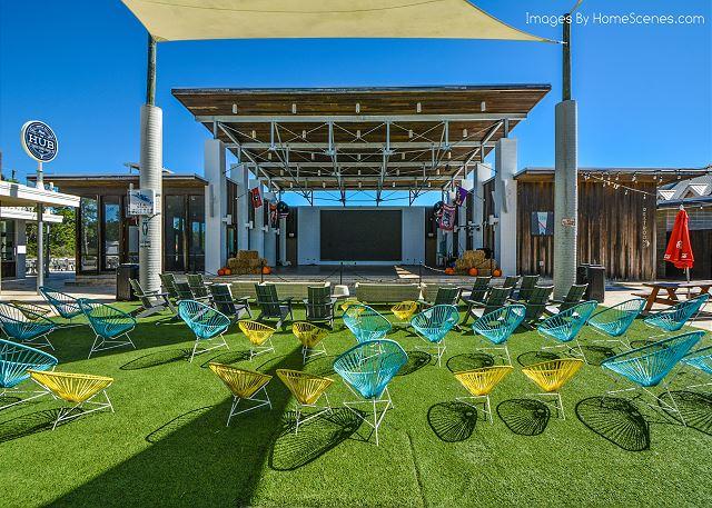 The Hub Outdoor Amphitheater