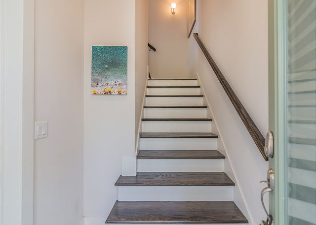 Stairs up to Main Living Area