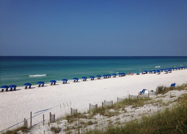 Seagrove sits on a bluff above the beach