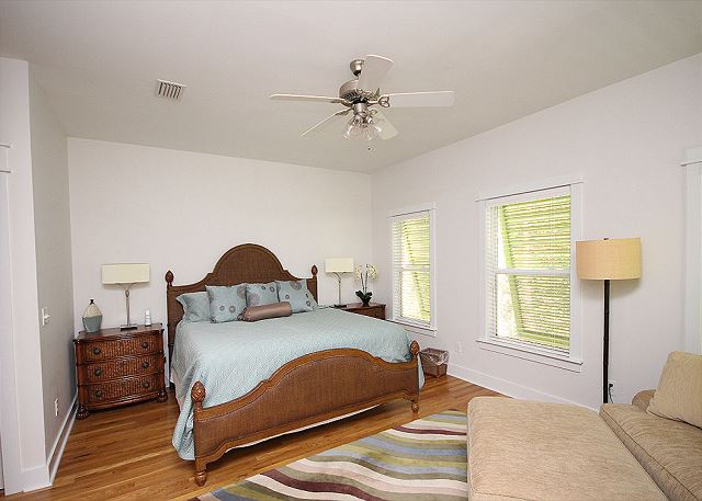 King Master Suite with Private Bath