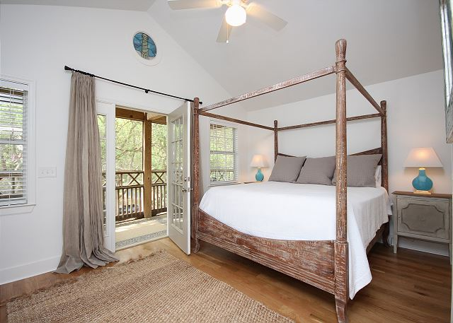 King Master Suite with Private Balcony