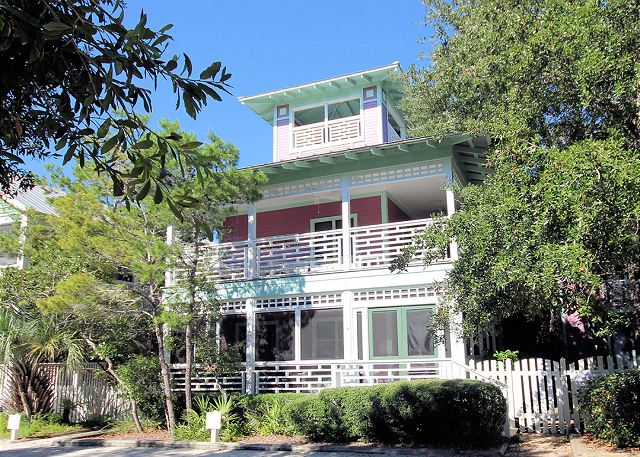 It's Happy Hour located on Forest Street in Seaside, Florida