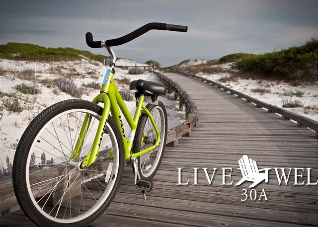 2 Bikes Included with your rental!