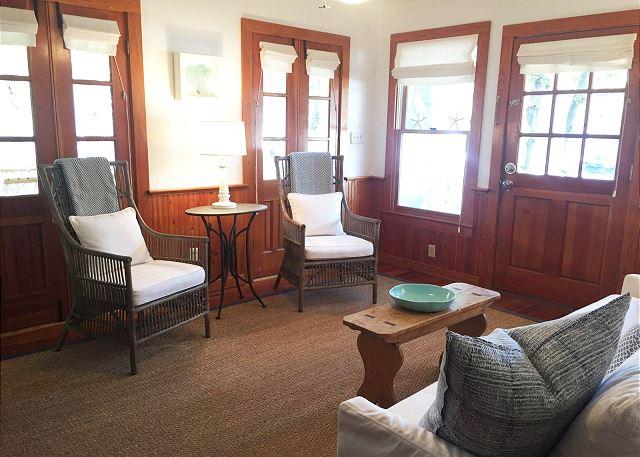 Living Room with New Sofa & Furnishings