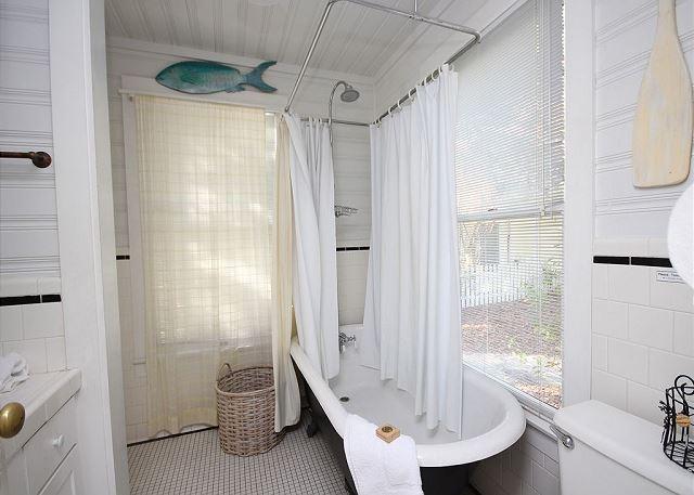 Master Bath with Designer Claw Foot Tub