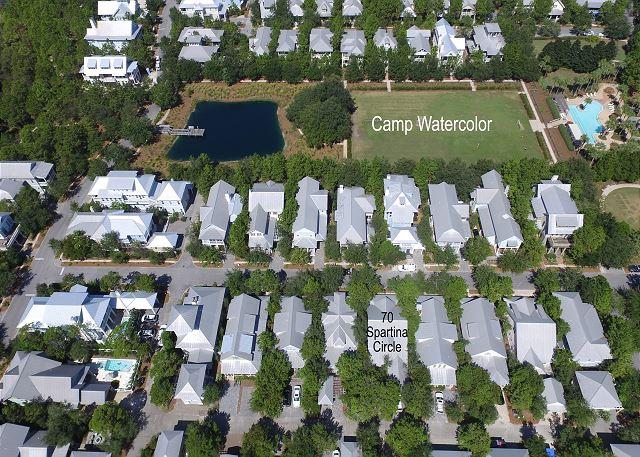 Aerial View of Beachwalk