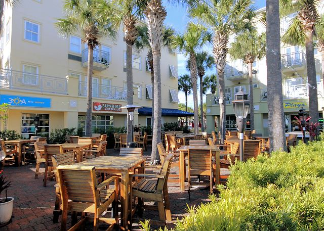 Gulf Place Outdoor Dining