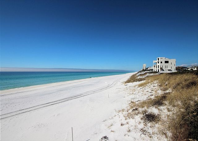 Steps from the beautiful emerald coast!
