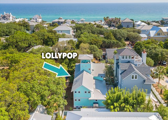Lollypop House - Steps to beach!