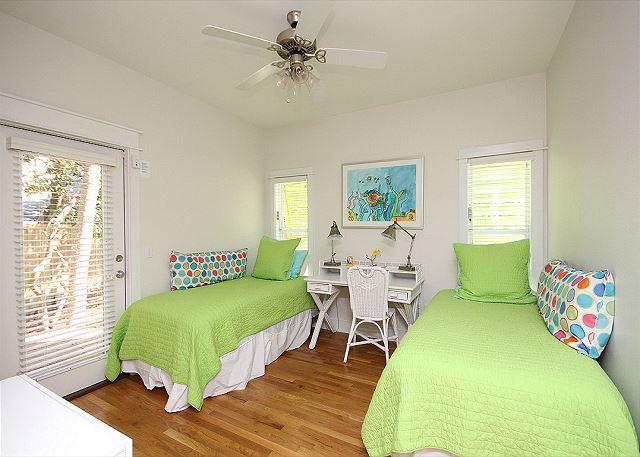 Dual Twin Bedroom downstairs