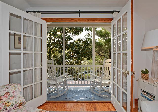 Private Balcony off Master Retreat