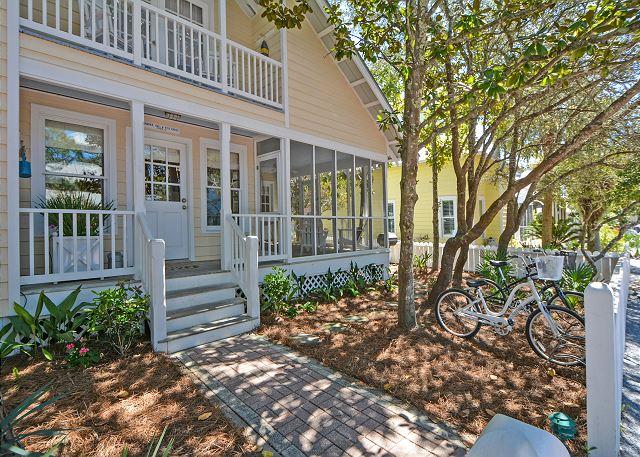 Carey Cottage in Seaside, FL