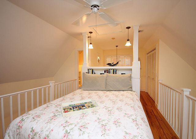 Lofted Queen Master Bedroom