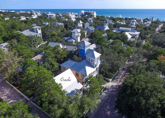Aerial View of Creole