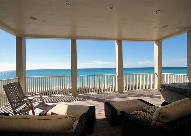 Spectacular Ocean Views From Private Master Balcony with Jacuzzi