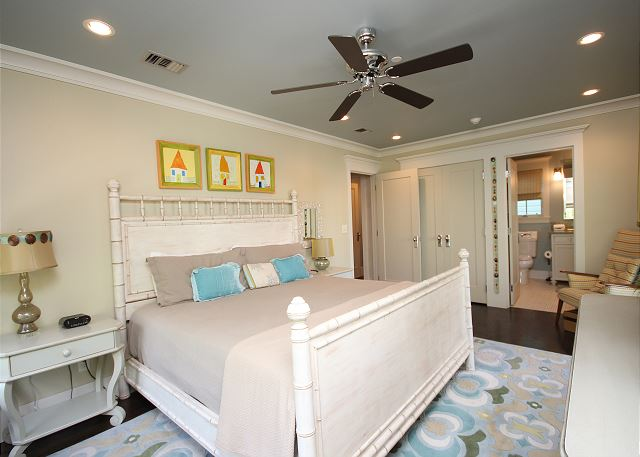 2nd Floor KING Master Suite with Balcony