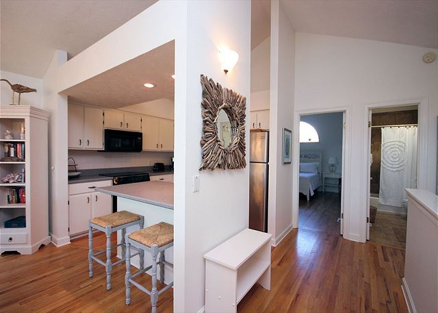 Kitchen & Master Bedroom Upstairs