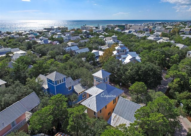 Aerial View of Coquina