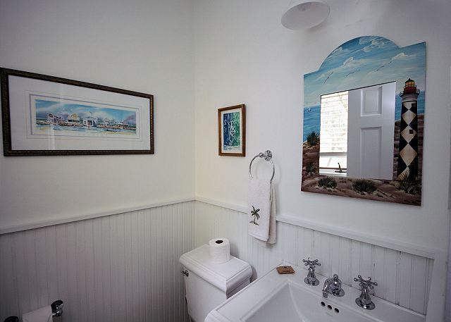 Half Bath on Main Level
