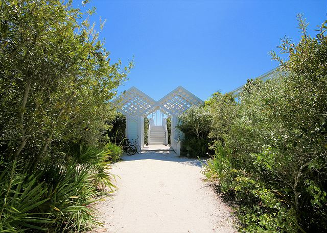 Private Seaside Pavilions & Beach Access