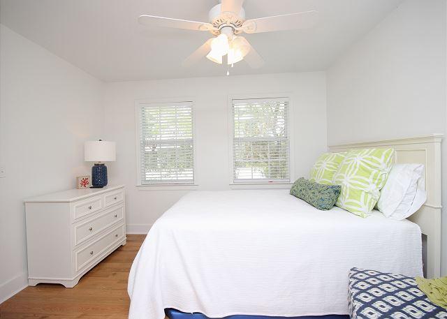 Queen Guest Bedroom with Additional Bunk Space (sleeps 4)