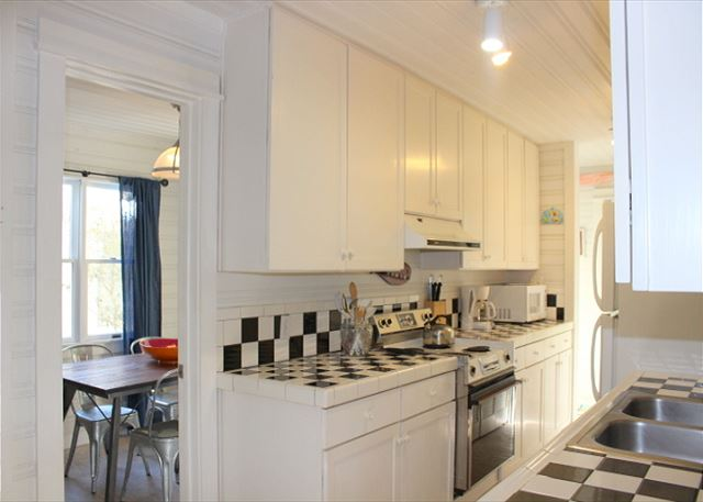 Galley Kitchen & Private Dining Space