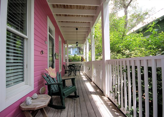 Little Shady Front Porch
