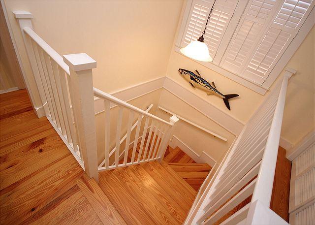 Stairway to Master Loft